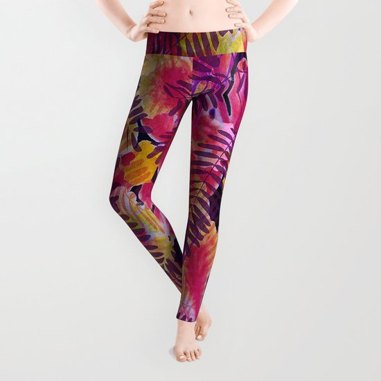 Tropical Punch Leggings