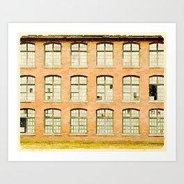 Factory, Maine Art Print