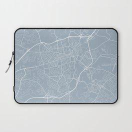 Athens Map, USA - Slate Laptop Sleeve