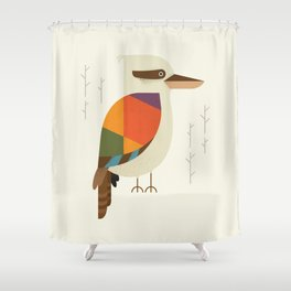 Laughing Kookaburra Shower Curtain
