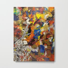 Abscission Metal Print