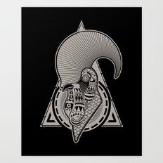 pico e gallo Art Print