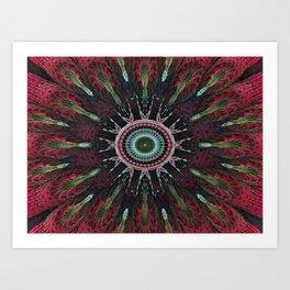 Candys Mandala Art 2 Art Print