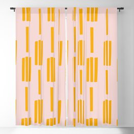 All lined up Blackout Curtain