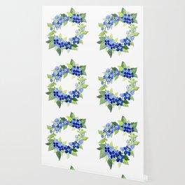 French Blues Wallpaper