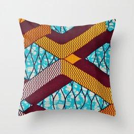 African Print Throw Pillows Society6