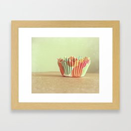 I Dream of Cupcakes Framed Art Print