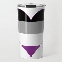 Asexual Heart Travel Mug
