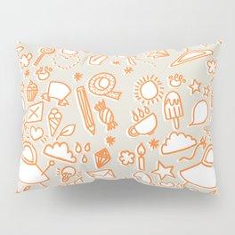 extra doodles Pillow Sham
