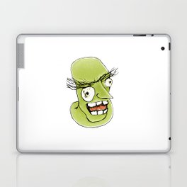 Mad Monster Man with Evil Expression Laptop & iPad Skin