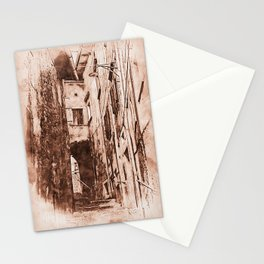 Scanno, an ancient italian town Stationery Cards
