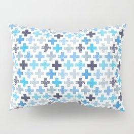 Patchy Crosses Pillow Sham