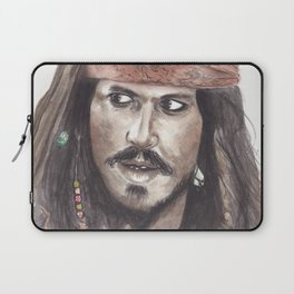 Black Pearl's Capt. Jack Sparrow Laptop Sleeve