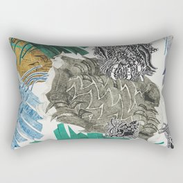 Carbonation Collection: beach Rectangular Pillow