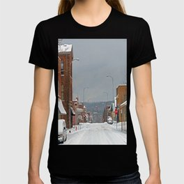 Snow in a Small City T-shirt