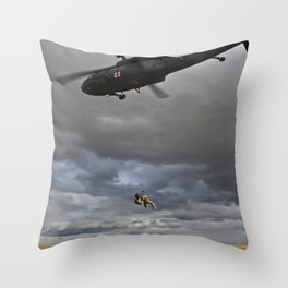 Suspended Between Worlds Throw Pillow