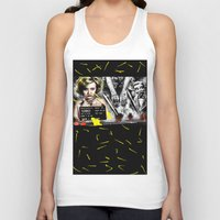 minneapolis Tank Tops featuring Postcard From Minneapolis by AF Knott