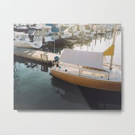 Harbor stills Metal Print