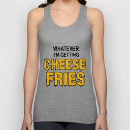 Cheese Fries Unisex Tank Top