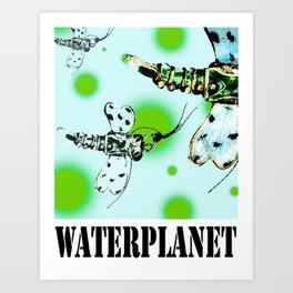 WATERPLANET: Dragonfly Art Print
