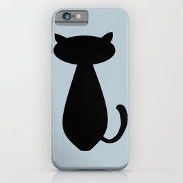 Cat Lurking in the Dark  iPhone Case