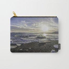 Jokulsarlon Lagoon Beach 06 Carry-All Pouch