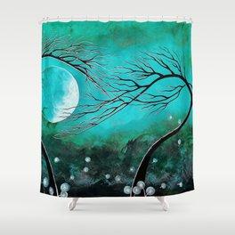 Emerald Dream Shower Curtain