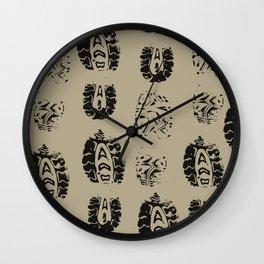Shoe Prints Wall Clock