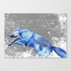 Wolf Pack Sans Pack Canvas Print