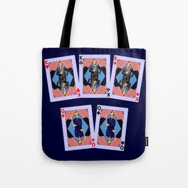 Full House of Cards Tote Bag
