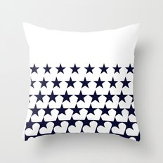 Love Among Stars Throw Pillow