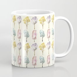 Watercolour Trees Coffee Mug