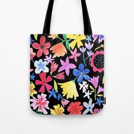 Spring extreme Black Tote Bag