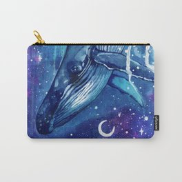 Passage to the Dream Realm - Space Whale Carry-All Pouch