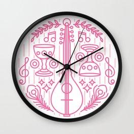 Bard Emblem Wall Clock