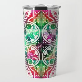 Bright Colorful Pattern Art - Color Fusion Design 10 By Sharon Cummings Travel Mug