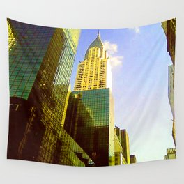 Empire State Building in New York City Wall Tapestry