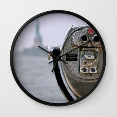 Turn to Clear Vision Wall Clock