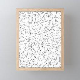 Equation Overload II Framed Mini Art Print