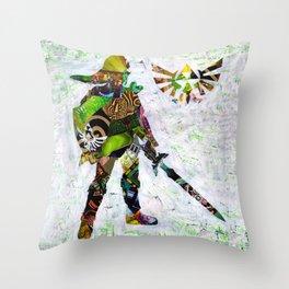 Zelda's Link Throw Pillow