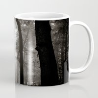 forrest Mugs featuring forrest VIII. by Zsolt Kudar