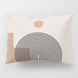 Abstraction_NEW_SUN_ARCHITECTURE_BOHO_POP_ART_0118 Pillow Sham