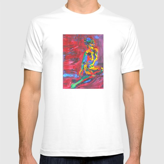 Colorful Nude T-shirt