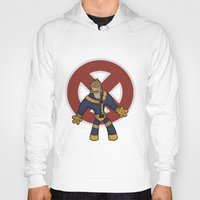 cyclops Hoodies featuring Cyclops by Twisted Dredz