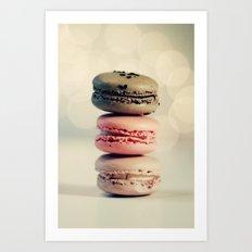 macarons . . . Art Print