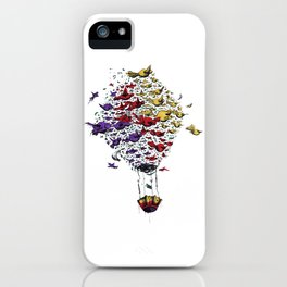 BIRD BALLON iPhone Case