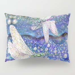 Dragonflies on Dragon's Tears Pillow Sham