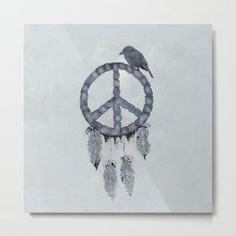 A dreamcatcher for peace Metal Print