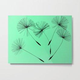 Mint Green Whisper Metal Print