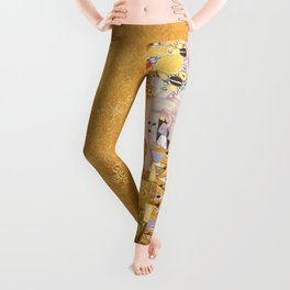 Gustav Klimt - Portrait of Adelle Bloch Bauer Leggings